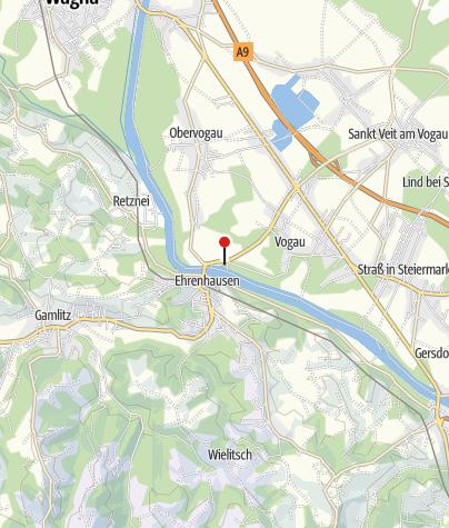 Karte / Vinofaktur mit dem Genussregal Südsteiermark