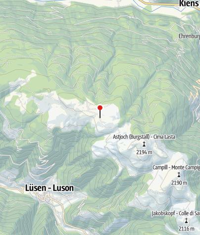 Mapa / Starkenfeldhütte