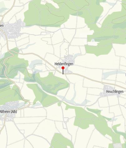 Karte / Vereinsheim Sportverein Heldenfingen