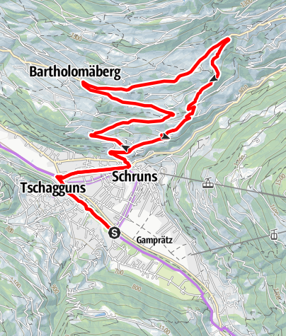 Map / Bärger Tour - E-Bike