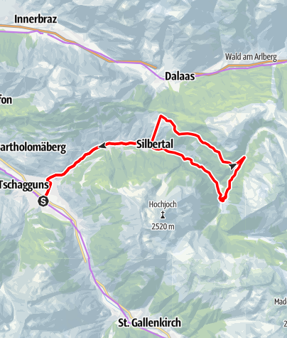 Map / Bergknappen Tour - E-Bike