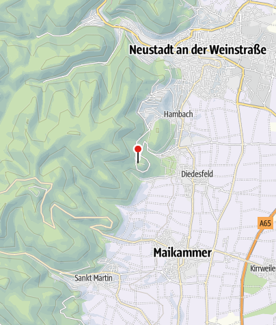 Map / Burgschänke Rittersberg