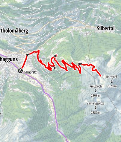 Map / Fernsicht Tour - E-Bike