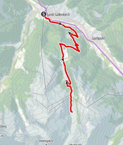 Karte / Alpe Nova Tour (E-Bike)