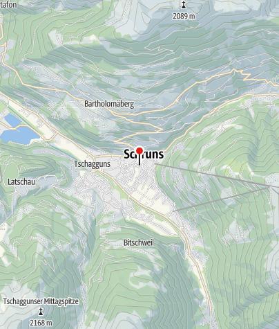 Karte / V4: Intersport Schruns