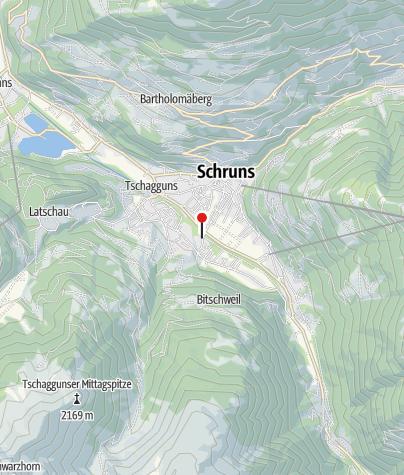 Karte / T1: Aktivpark Montafon, Schruns-Tschagguns