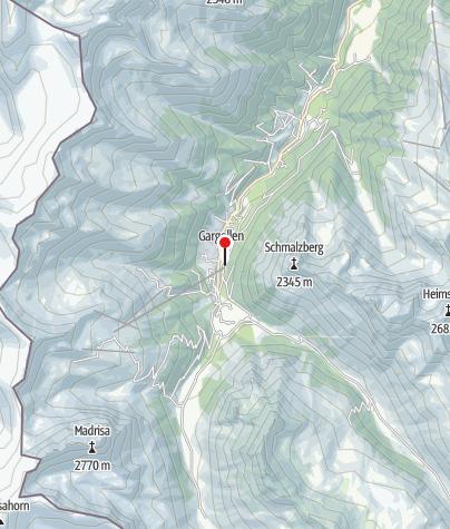 Karte / T13: Pure Mountain Equipment, Gargellen
