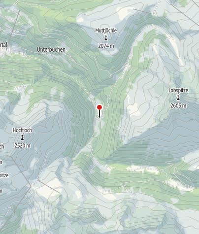 Karte / T7: Jausenstation Hasahüsli, Silbertal