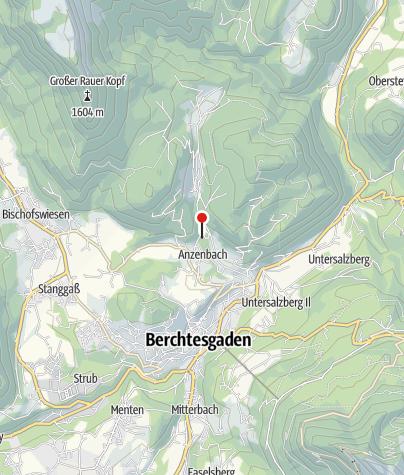 Karte / Café-Pension Etzerfelsen