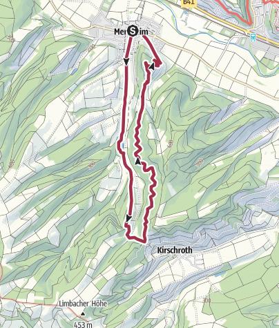 Map / Um den Winchendeller Weiher