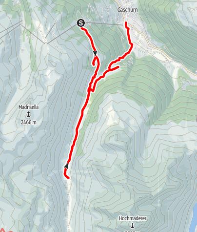 Map / Ins Garneratal