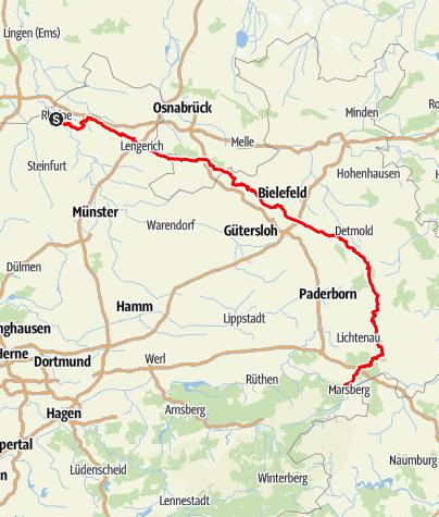 Karte / Hermannshöhen