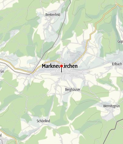 Karte / Tourist-Info Markneukirchen