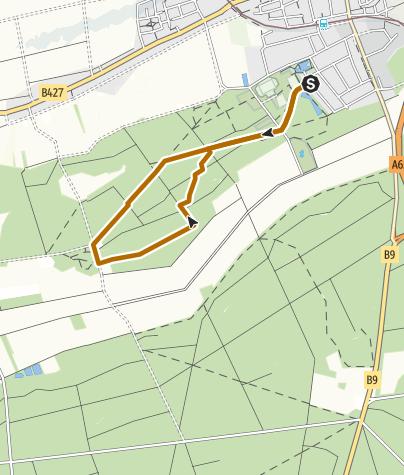 Karte / Kandel - Nordic Walking Tour 6 - Rundtour