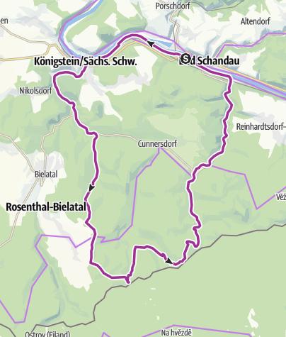 Map / Drei-Teiche-Tour