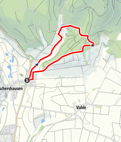Karte / Henneckenberg und Jägeranger (Es 6)