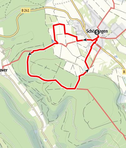Karte / Über den Schlammteich durchs Deutsche Haus (Schö 2)