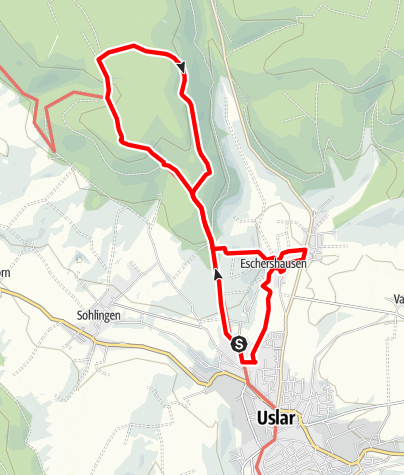 Karte / Sollingturm und Italblick (Us 4)