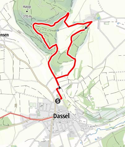 Karte / Grafenstieg (Da 5b)