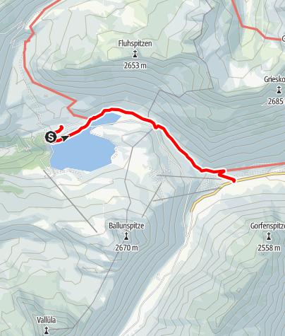 Map / Wasserweg ins Paznaun