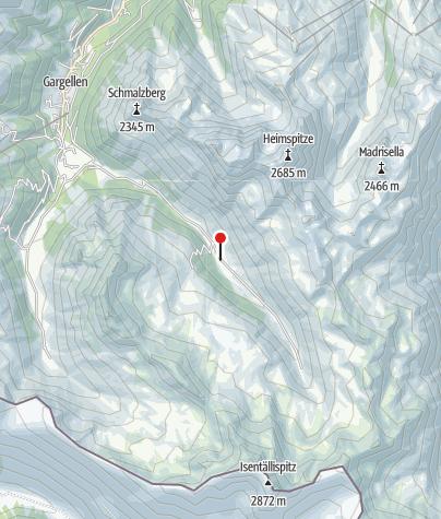 Map / Vergaldaalpe