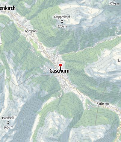 Karte / Montafoner Tourismusmuseum
