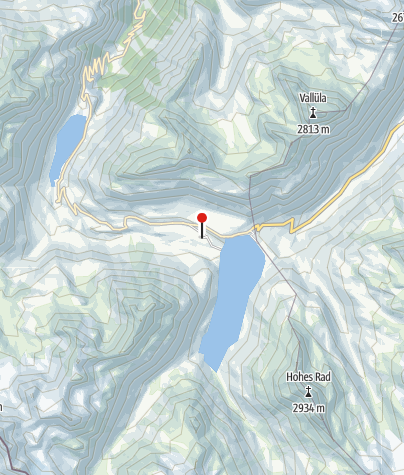 Kaart / Großvermuntalpe