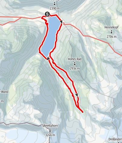 Map / Hirtentour Montafon
