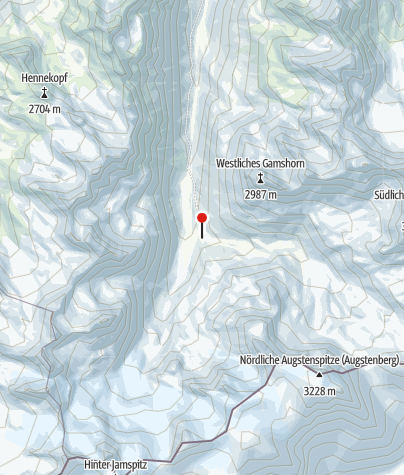 Map / Jamtalhütte