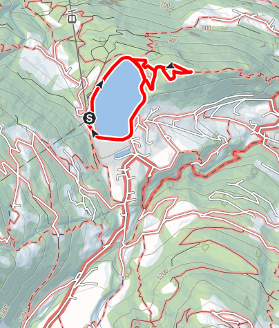Karte / Naturerlebnispfad Kristakopf Latschau