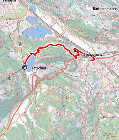 Karte / Krista - Tschagguns