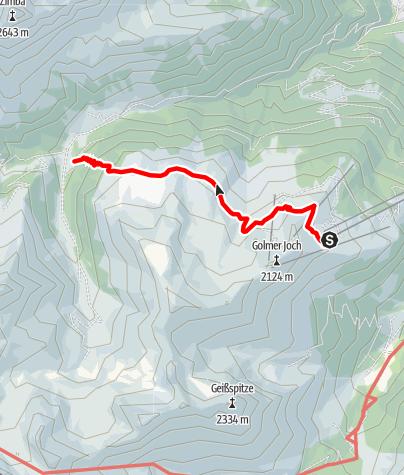 Kaart / Platzisalpe - Rätikon