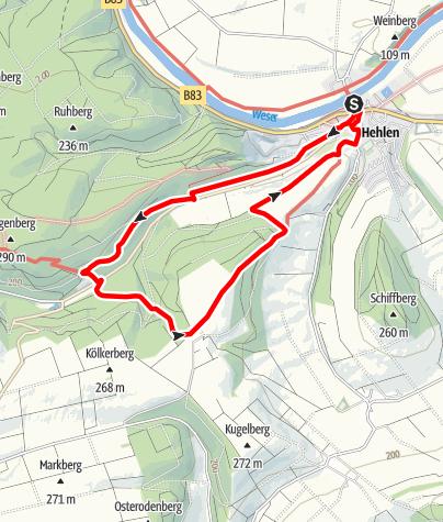 Karte / Sievershagener Tal und Övelgönner Hochplateau (He 2)