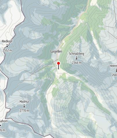 Karte / Haus Ritzenspitze