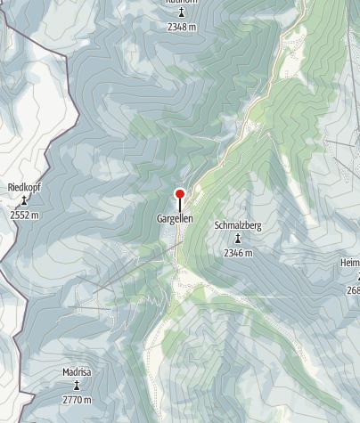 Karte / Haus Boramenta