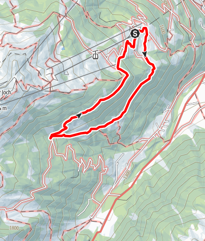 Map / Wachters Dieja - Alpe Golm