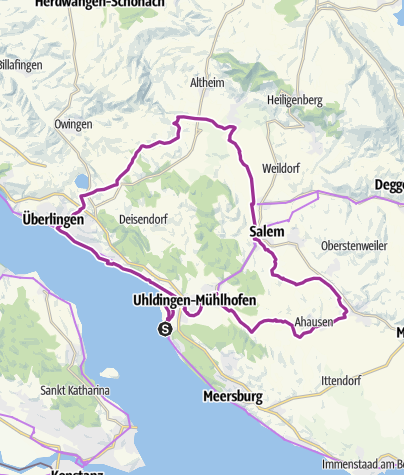 Karte / Die Aach - Lebensader des Linzgaus (Unteruhldingen - Bermatingen - Frickingen - Überlingen)