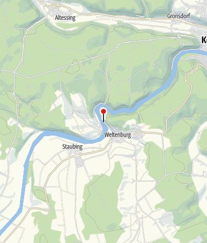 Map / Seilfähre Weltenburg-Stausacker (Kelheim)