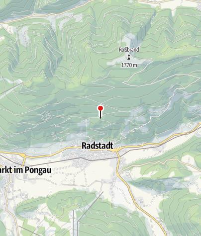 Karte / Bürgerbergalm