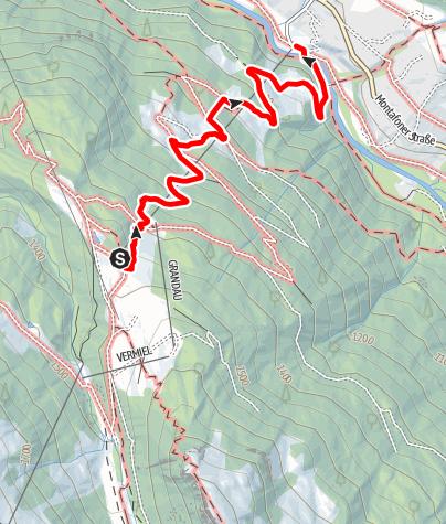 Karte / Garfrescha - Grandau - Gortipohl