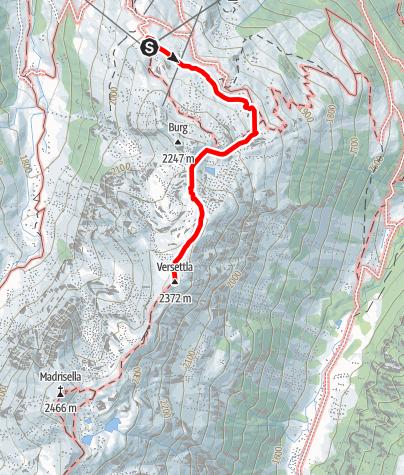 Karte / Versettlaspitze