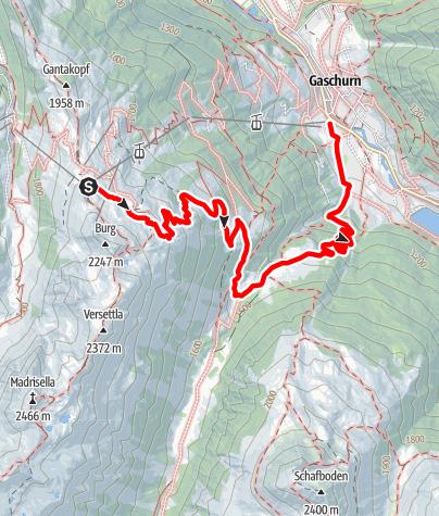 Kaart / Nova Stoba - Lifinar - Ganeu