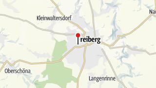 Karte / Tierpark Freiberg