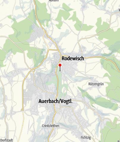 """Karte / Ausstellungen im Museum """"Göltzsch"""" Rodewisch"""