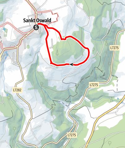 Mapa / Friedenskreuzweg