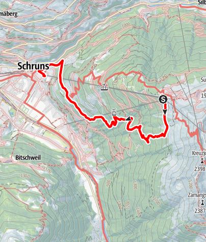 Kaart / Kapell - Lifinar - Schruns