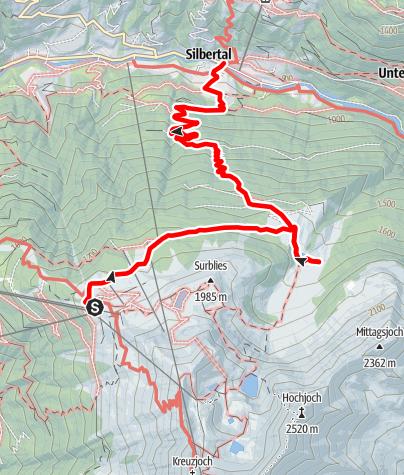 Map / Alpe Innerkapell