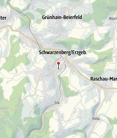 "Karte / Kirche ""St. Georgen"" Schwarzenberg"