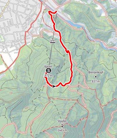 Karte / Karren