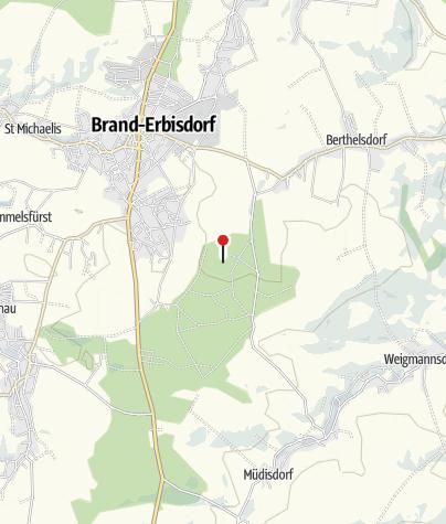 """Karte / Freibad """"Erzengler"""" Brand-Erbisdorf"""
